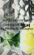 Pop Up Design Shop